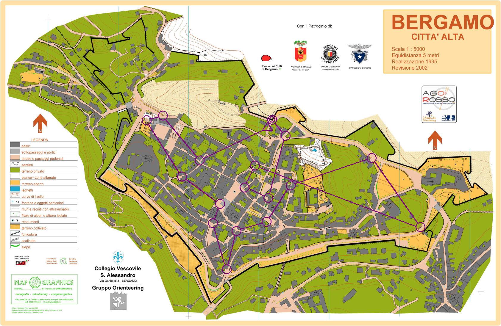 b a s bergamo italy map - photo#5
